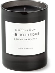 Byredo 'Bibliotheque' Scented Candle Black