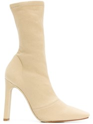 Yeezy Season 6 Ankle Boots Nude And Neutrals