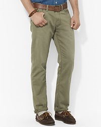 Polo Ralph Lauren Straight Fit Five Pocket Chino Pant Mountain Green