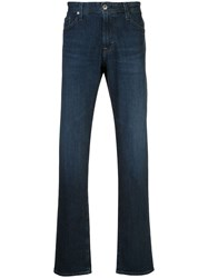 Ag Jeans Graduate Mid Rise Straight Blue