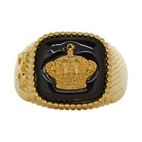 Dolce And Gabbana Gold Crown Ring