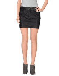 Richmond Denim Skirts Mini Skirts Women Black