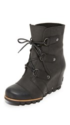 Sorel Joan Of Arctic Wedge Booties Black