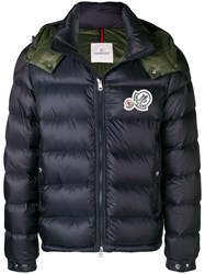 Moncler Padded Down Jacket Green
