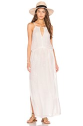 Tessora Keyhole Maxi Dress Pink
