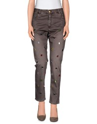 Monocrom Trousers Casual Trousers Women Khaki