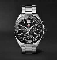 Tag Heuer Formula 1 Chronograph 43Mm Stainless Steel Watch Ref. No. Caz1010.Ba0842 Black