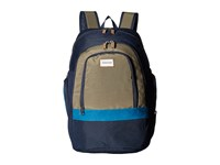 Quiksilver 1969 Special Four Leaf Clover Backpack Bags Green