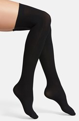 Commando Women's Up All Night Thigh High Socks Black