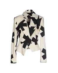 Vivienne Westwood Anglomania Suits And Jackets Blazers Women Ivory