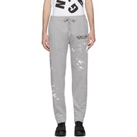Helmut Lang Grey Painter Lounge Pants