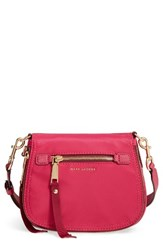 Marc Jacobs Trooper Small Nomad Nylon Crossbody Bag Pink Hibiscus