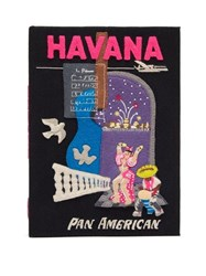Olympia Le Tan Havana Pan American Book Clutch Black Multi