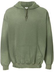 Sasquatchfabrix. Distressed Hoodie Green