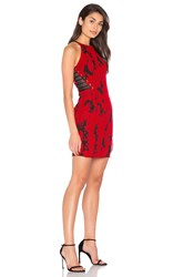 Parker Brittany Dress Red
