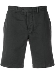 Officine Generale Casual Chino Shorts Grey