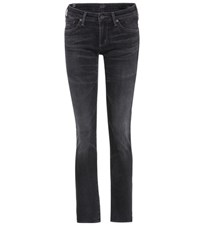 Citizens Of Humanity Racer Low Rise Skinny Jeans Black