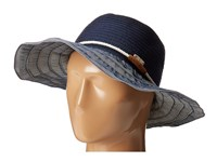 San Diego Hat Company Rbl4787 Ribbon With Rope Band Denim Traditional Hats Blue