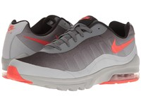 Nike Air Max Invigor Dark Grey Wolf Grey Black Max Orange Men's Cross Training Shoes Gray