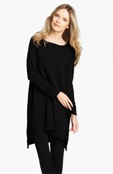 Eileen Fisher Women's Merino Jersey Tunic Black