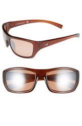 Men's Kaenon 'Kanvas' 59Mm Polarized Sunglasses Brown Copper C28