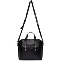 Comme Des Garcons Tricot Black Synthetic Leather Small Bag