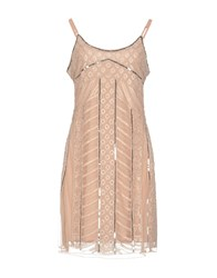 Molly Bracken Short Dresses Sand
