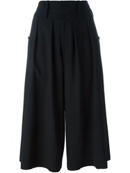 J.W.Anderson J.W. Anderson Pleated Front Culottes Black