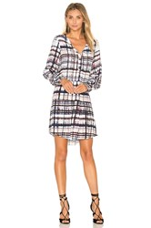 Parker Lacey Dress Gray