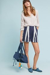Greylin Boardwalk Striped Shorts Blue Motif