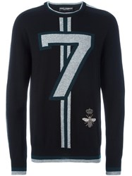 Dolce And Gabbana 7 Sweater Black