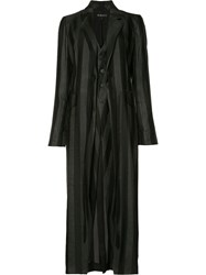 Ann Demeulemeester Crawford Coat Black