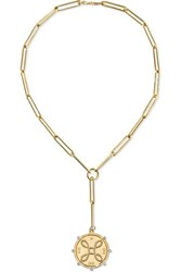 Foundrae True Love 18 Karat Gold Diamond Necklace