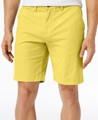 Tommy Hilfiger Men's Shorts 9 Inseam Maize