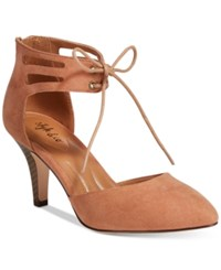 Styleandco. Style Co. Women's Vanaa Lace Up Pumps Only At Macy's Women's Shoes Spice