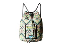 Kavu Beach Day Citrus Ikat Bags Beige