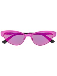 Moschino Eyewear Cat Eye Sunglasses Pink