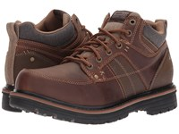 Skechers Relaxed Fit Marcelo Topel Dark Brown Men's Lace Up Casual Shoes