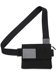 A Cold Wall Nylon Holster Bag W Envelope Flap Black