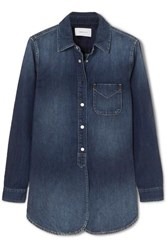 Current Elliott The Deck Denim Shirt Indigo