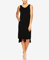 Gaiam Stella Step Hem Dress Black
