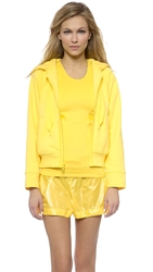 Adidas By Stella Mccartney Run Zip Hoodie Glow Yellow