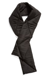 Trouve Puffer Scarf Black