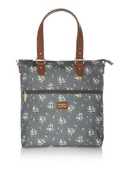 Ollie And Nic Ditsy Day Tote Bag Olive