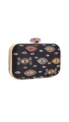 Alice Olivia Shirley Evil Eye Large Clutch Multi