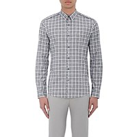 Theory Men's Rammy Sterlington Shirt Dark Grey