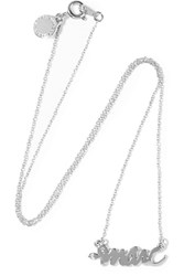 Marc By Marc Jacobs Silver Tone Necklace Metallic