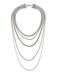 John Hardy Classic Chain Sterling Silver Multi Strand Necklace
