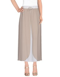 Lorena Antoniazzi Skirts Long Skirts Women Light Brown