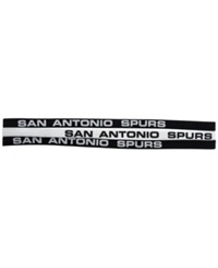 Little Earth San Antonio Spurs 3 Pack Elastic Headbands Team Color